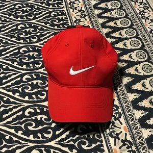 Nike golf red adult unisex hat